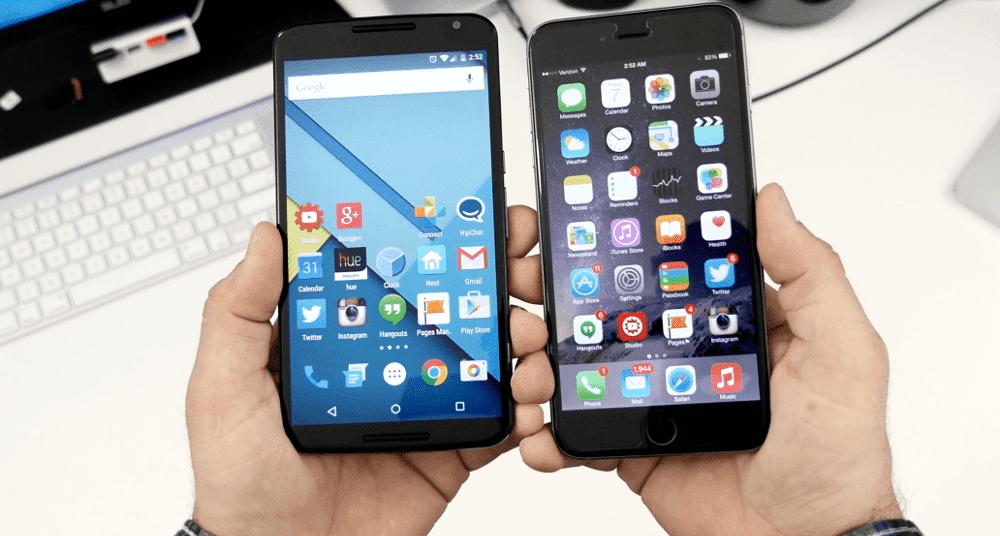 a13 Столкновение гигантов смарт индустрии. Превосходство Android над iOS.