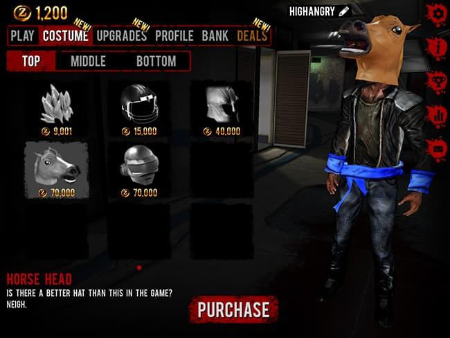 headhorse Dead of Arrival 2   убивай зомби на Андроид.