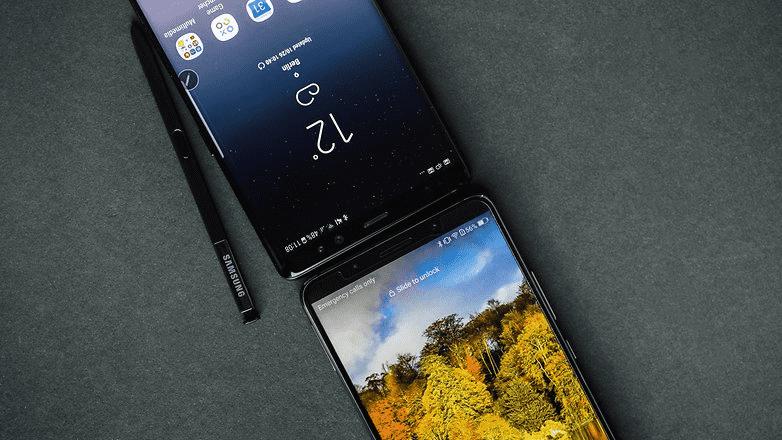 310 Huawei Mate 10 Pro VS Samsung Galaxy Note 8: сравнение