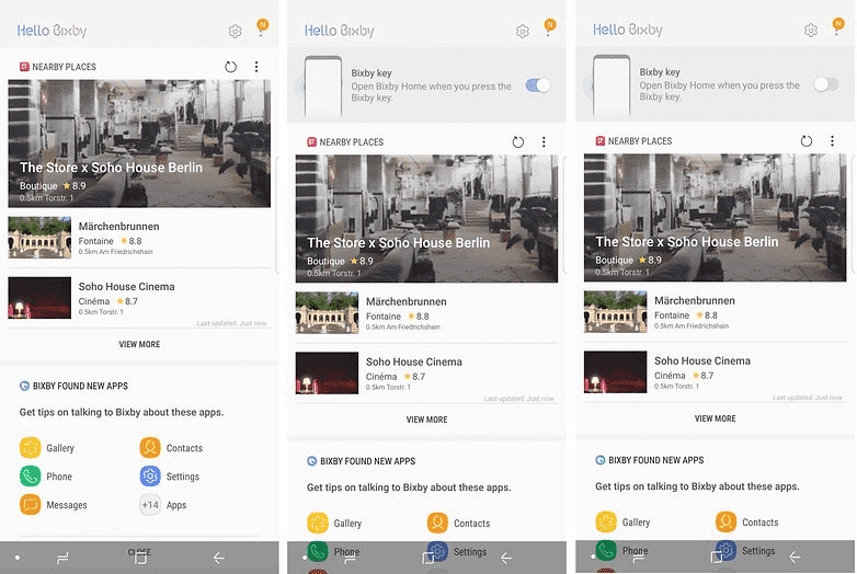 387 Как отключить кнопку Bixby на Galaxy S8, S8 + и Note 8?