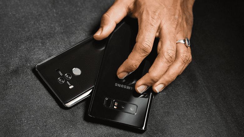 496 Huawei Mate 10 Pro VS Samsung Galaxy Note 8: сравнение