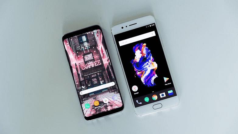 776 OnePlus 5 против Samsung Galaxy S8: какая разница?