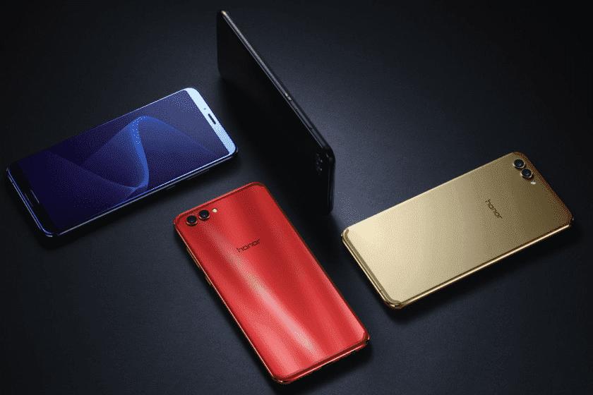 793 Honor V10 представлен в Китае с дисплеем 18: 9, чипом Kirin 970 и Android 8.0 Oreo