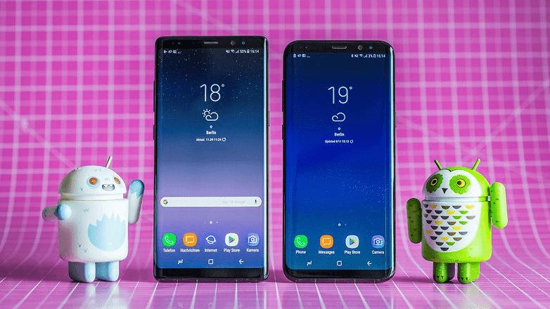 160 Samsung Galaxy S8 / S8 + наконец то получит стабильную версию Oreo в конце января