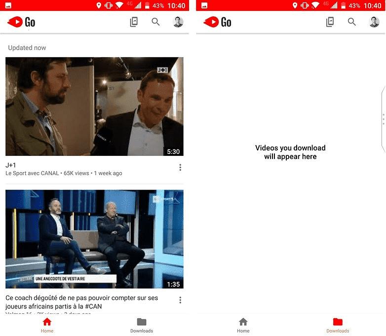 987 Как скачать и установить YouTube Go бесплатное приложение для Андроид