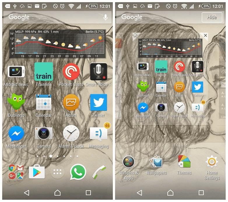 Как удалить панель поиска Google с главного экрана Андроид?