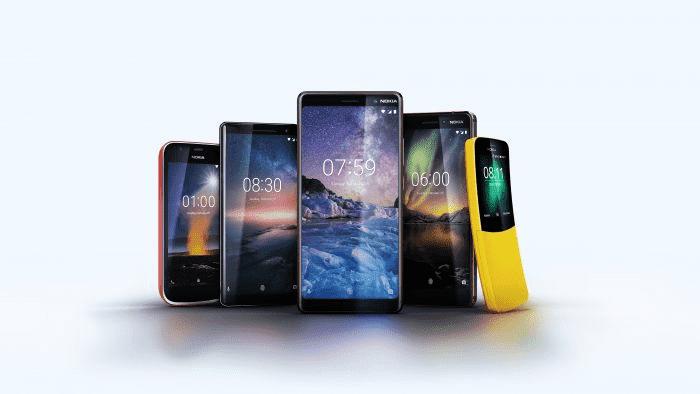 369 HMD Global выпускает 5 новых телефонов Nokia MWC 2018