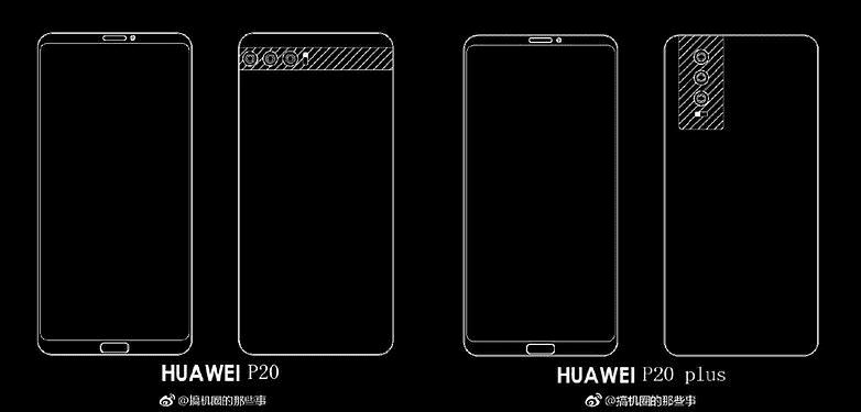 498 Huawei P20: появились слитые фотографии P20 Plus