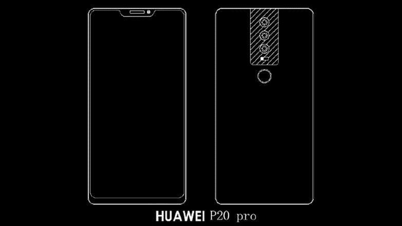 964 Huawei P20: появились слитые фотографии P20 Plus