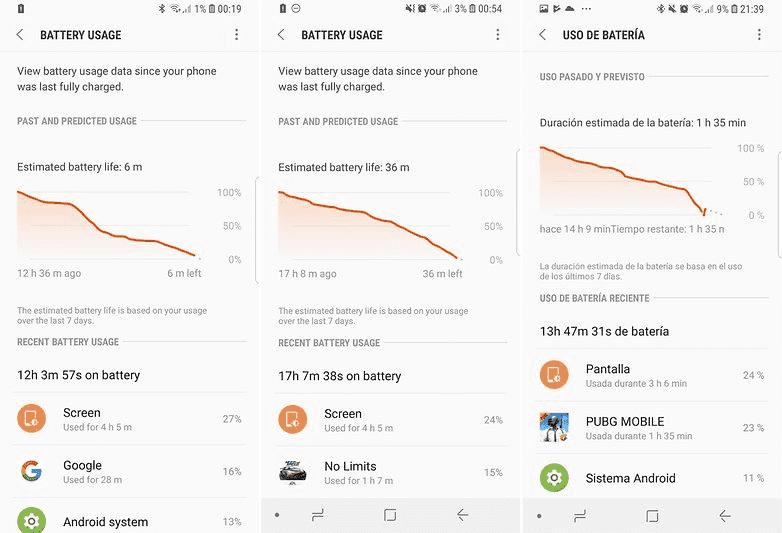 477 Тест батареи Galaxy S9 и S9 +: неутешительная правда
