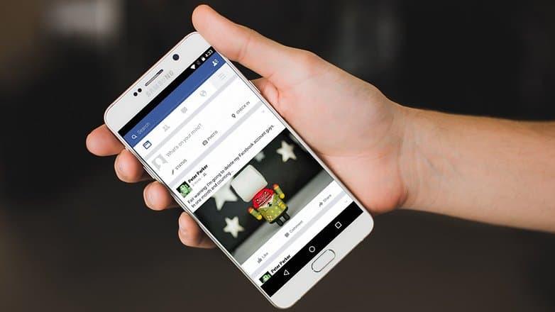Как на телефон сделать фейсбук 593