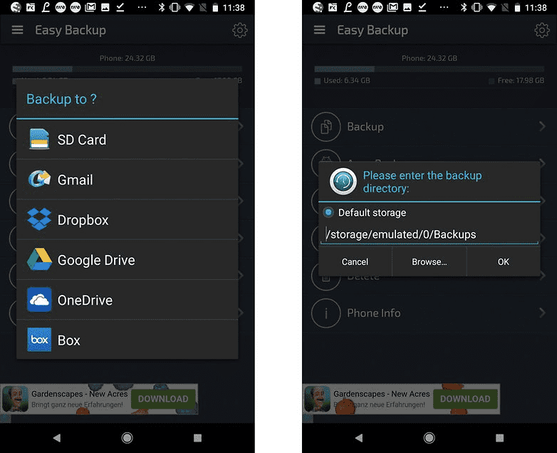 206 Не потеряйте свои данные. Как сделать резервную копию вашего телефона Андроид?