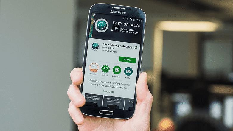 394 Не потеряйте свои данные. Как сделать резервную копию вашего телефона Андроид?