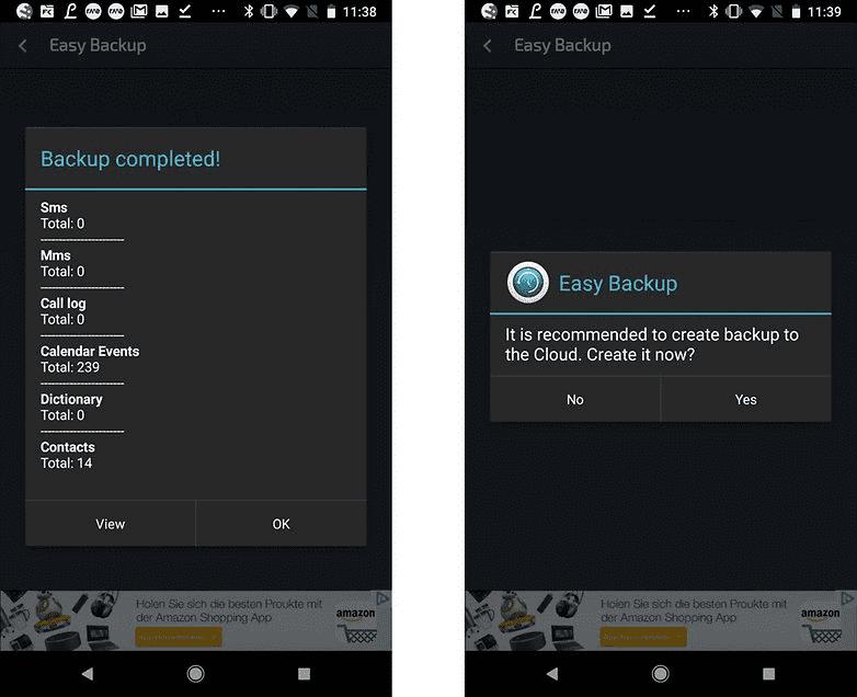 554 Не потеряйте свои данные. Как сделать резервную копию вашего телефона Андроид?