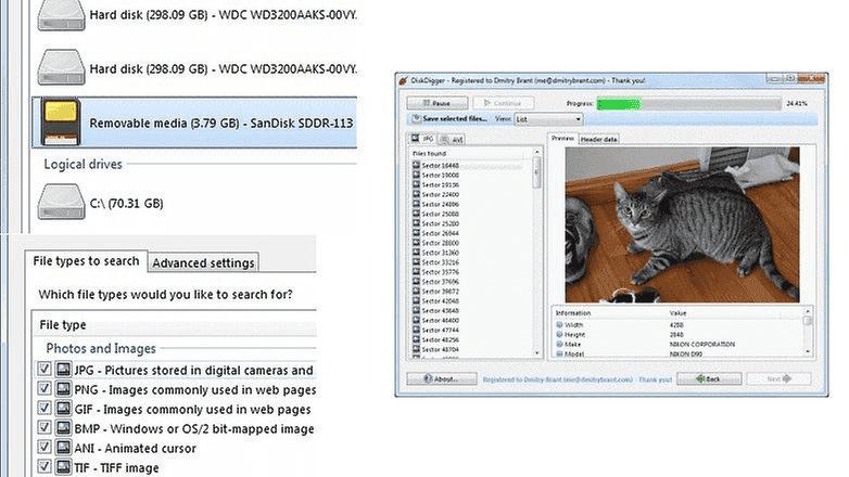 514 Как восстановить данные с поврежденной SD карты?