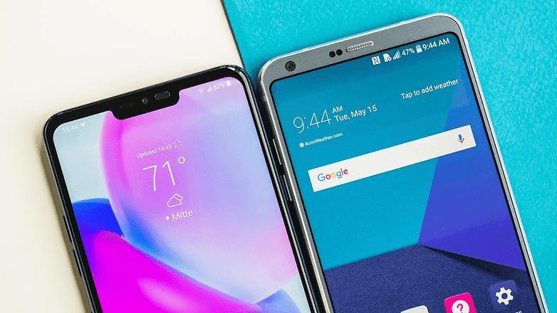 333 LG G6 против LG G7 ThinQ: мощный скачок к AI