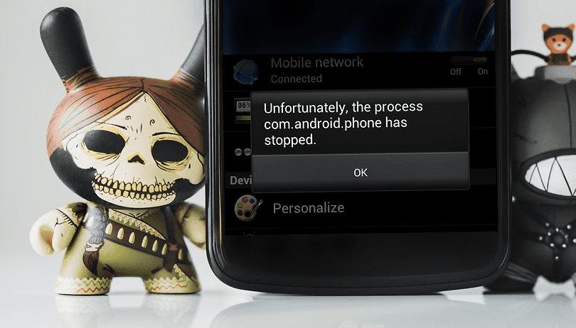 Как исправить ошибку «К сожалению, приложение остановлено» на Андроид?
