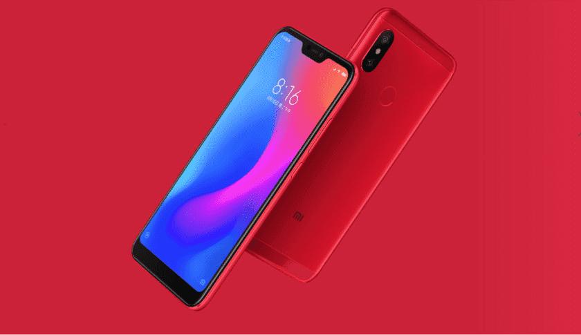 931 Xiaomi запускает Redmi 6 Pro с вырезом и знакомым Snapdragon 625 SoC