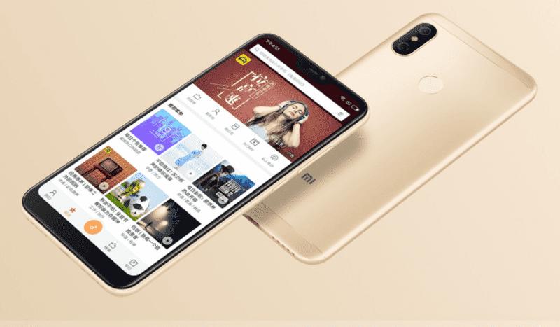 990 800x467 Xiaomi запускает Redmi 6 Pro с вырезом и знакомым Snapdragon 625 SoC