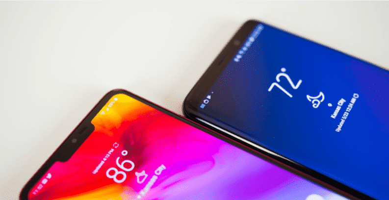 notch Galaxy S10 и LG G8 могут избежать выреза над дисплеем
