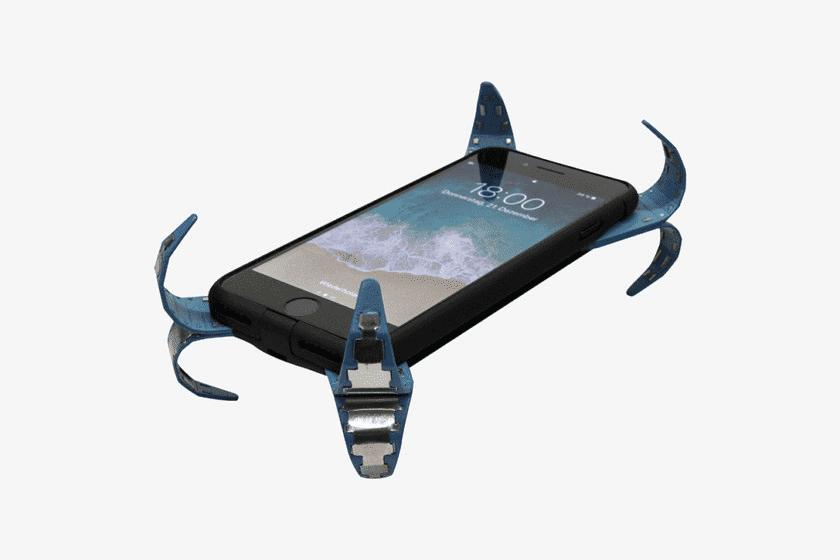 263 Будущие чехлы для смартфонов могут оснащаться «мобильными подушками безопасности» (Видео)