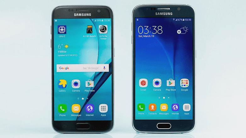 478 Samsung Galaxy S6 VS S7