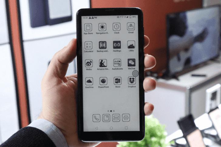 Новый прототип телефона e-ink от Onyx имеет Android Pie и несколько скоростей обновления экрана