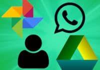 Как сделать резервную копию фотографий WhatsApp в Google Фото и текстов в Google Drive