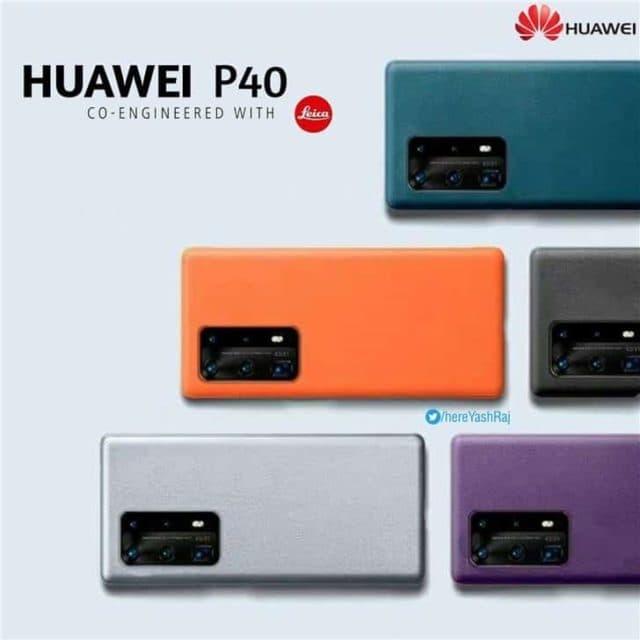 Huawei P40: флагман получит новые расцветки