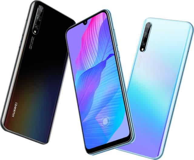 Huawei представила смартфон с 90-процентным экраном