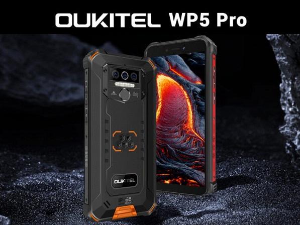 Oukitel представила суперзащищенный смартфон «WP5 Pro»