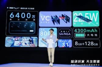 Huawei провела презентацию модели «Play4»