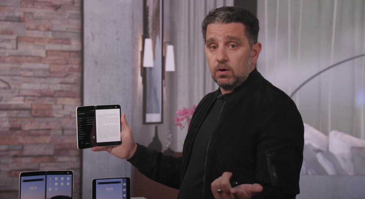 Microsoft рассказала об особенностях Surface Duo