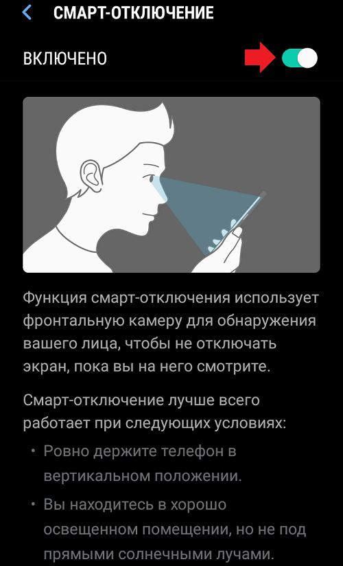 Что за глаз появляется на Андроиде?